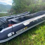 Лодка моторная SOLAR-450,прокат лодок,