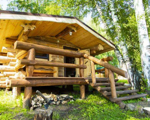 баня на дровах,баня на берегу,баня база Зурбаган,